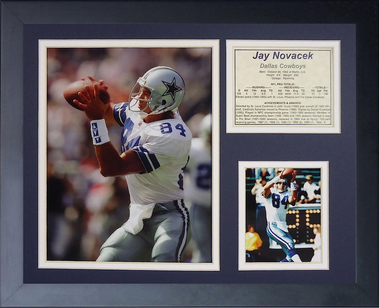 Inc. Jay Novacek 11 x 14 Framed Photo Collage by Legends Never Die