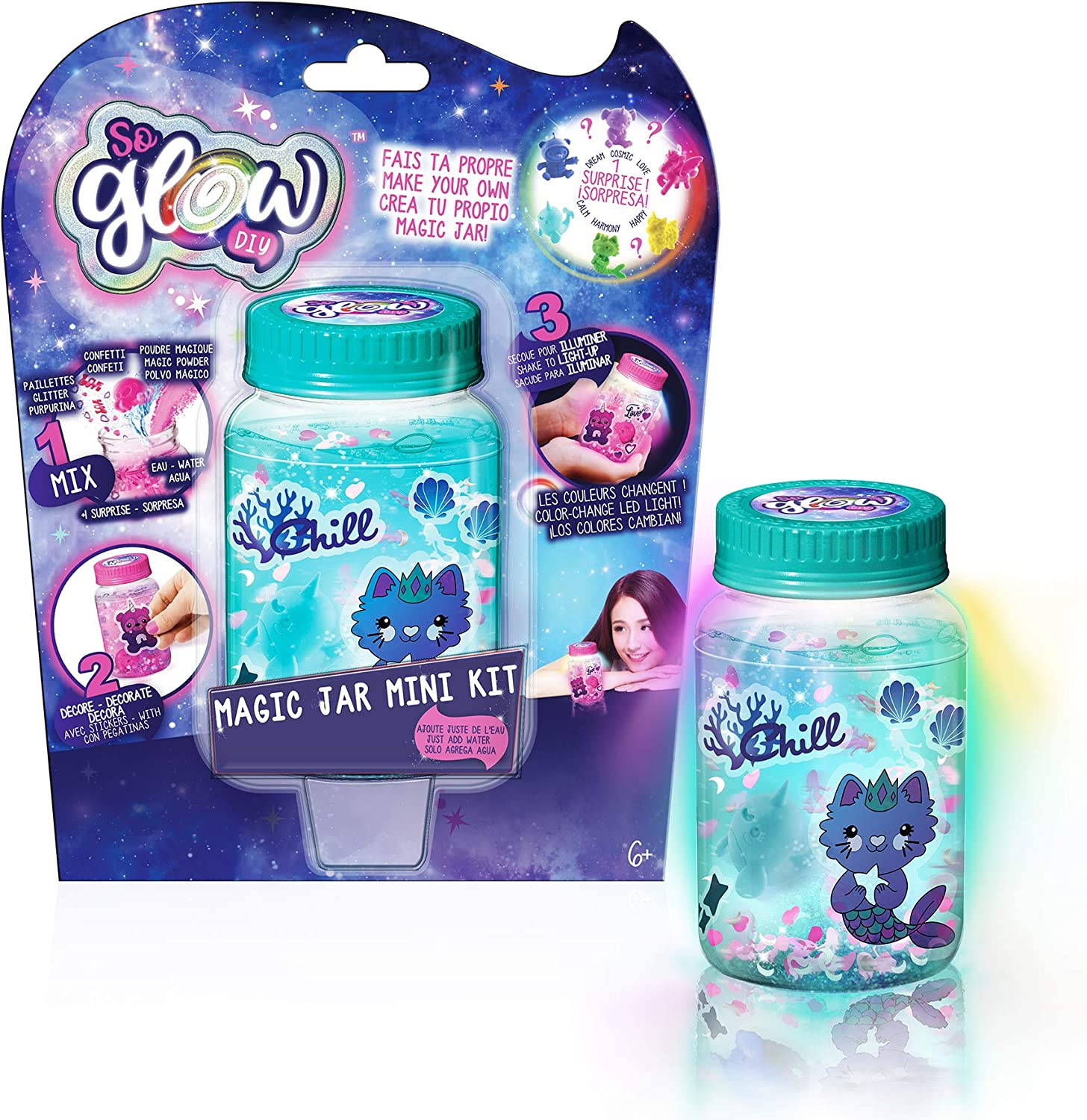 MAGIC JAR SGD 001 Magic Jar Mini Kit, Multicolor
