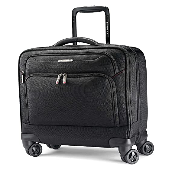 5700576ac46 Samsonite Xenon 3.0 Spinner Mobile Office Laptop Bag, Black, One Size   Amazon.co.uk  Clothing