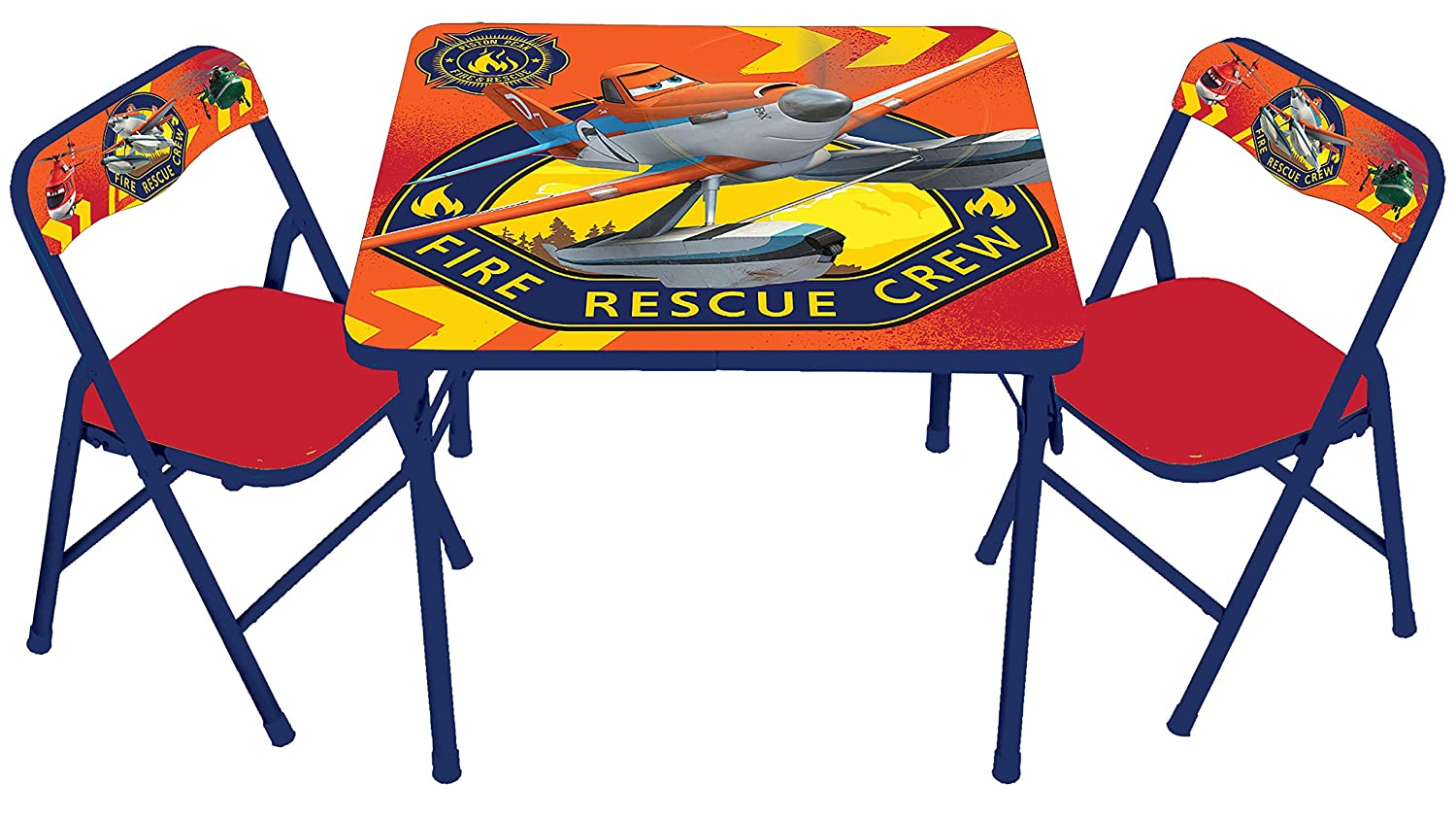 Disney Planes Fire and Rescue Activity Table Set Jakks -- Dropship 78662