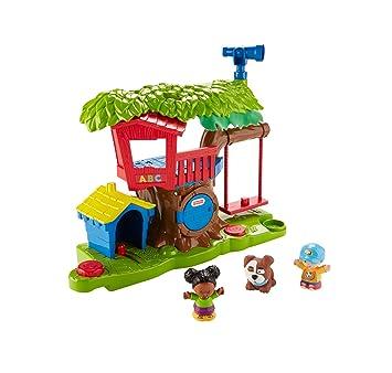 Mattel Fisher-Price fkw80, Little People algodón casa Juego: Amazon.es: Juguetes y juegos