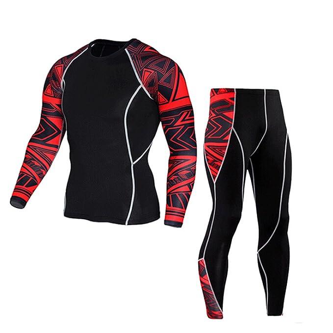 Amazon.com: ? ? sfe-man Yoga conjunto de traje, pantalones ...