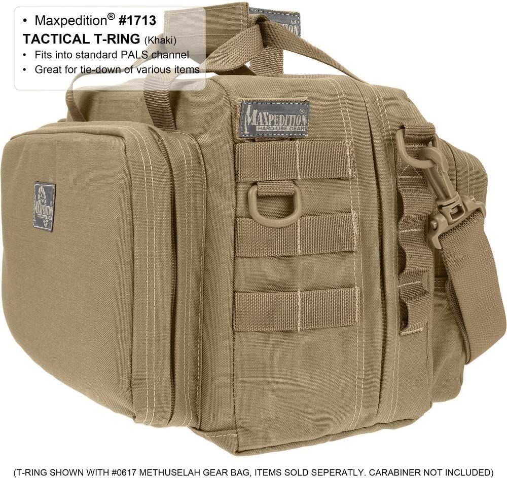 Khaki Maxpedition Tactical T-Ring