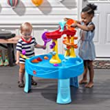Step 2 Archway Rain Showers Splash Pond Water Table, Kids Water Play Table with 13-Pc Accessory Set, 18 months, Holds up…