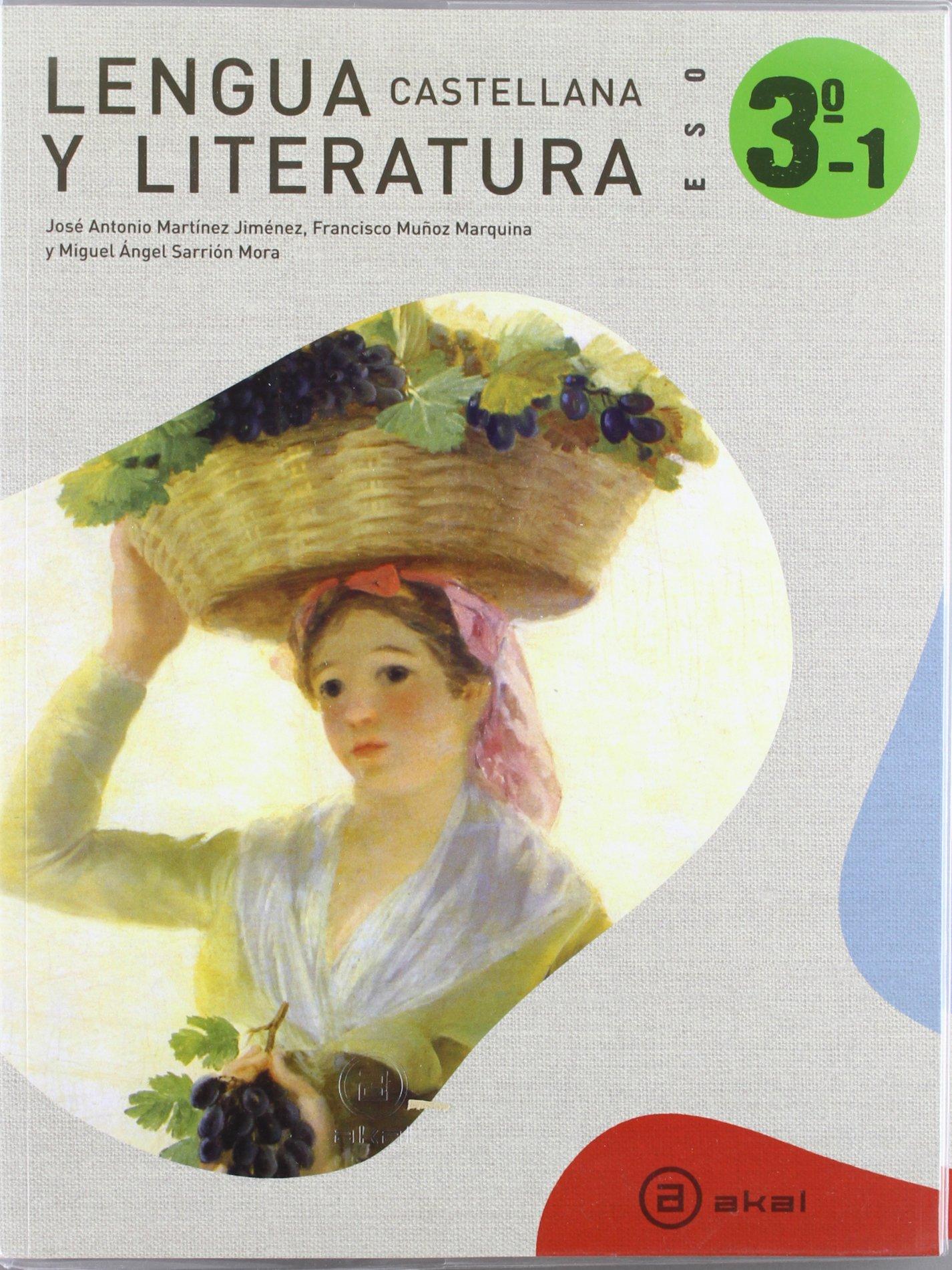 Lengua Castellana Y Literatura. Trimestres.3º ESO: Amazon.es: José Antonio Martínez Jiménez: Libros