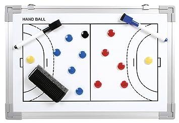 b+d pizarra tablero táctica de balonmano