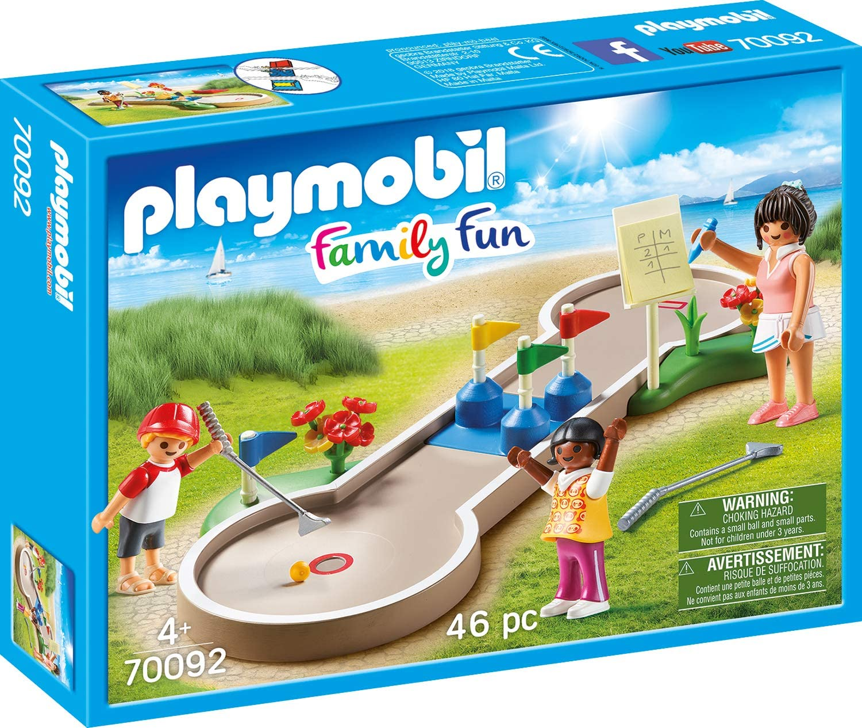 Playmobil Mini Golf 70092 Family Fun - Figures with Equipment