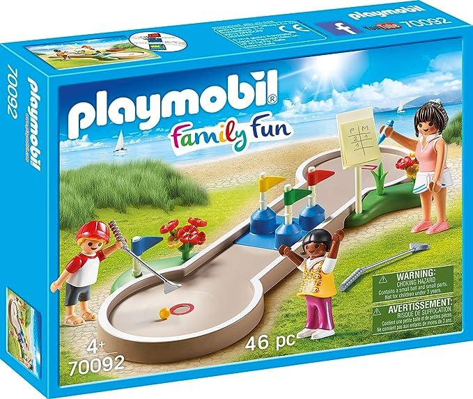 PLAYMOBIL Family Fun Mini Golf