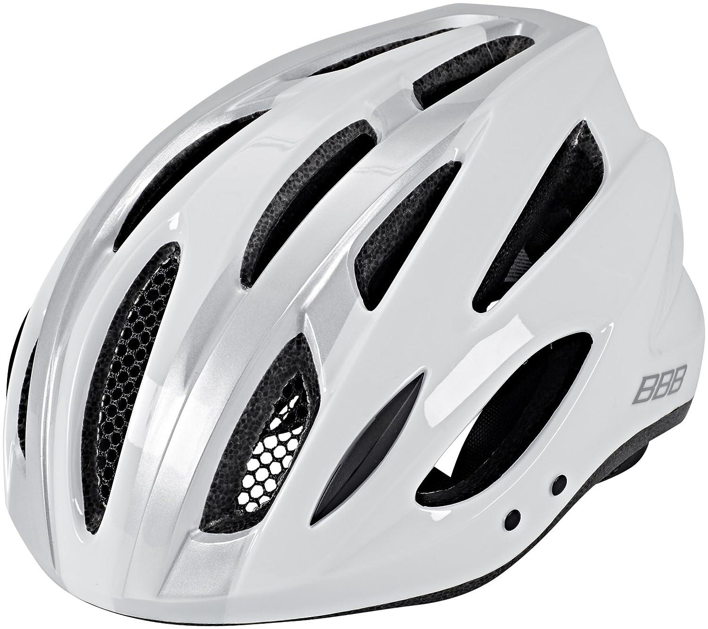 BBB Condor BHE-35 Helmet Weiss Silber 2019 Fahrradhelm