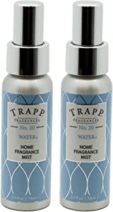 Trapp Home Fragrance Mist, No. 20 Water, 2.5-Ounce (2-Pack)