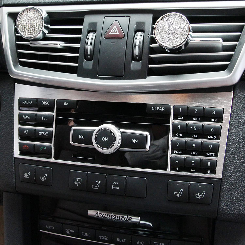 beler Auto Innenraum Auto Aluminium Center Konsole Button Schalter Panel Cover Trim