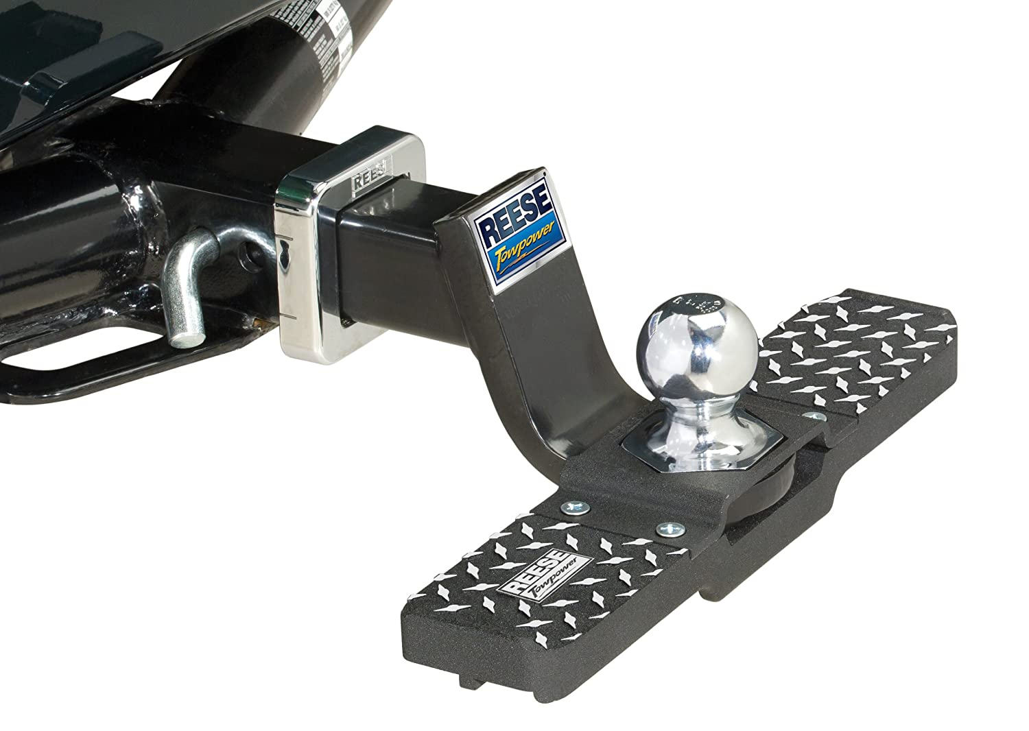 amazon com reese towpower 7060200 tow and go hitch step automotive