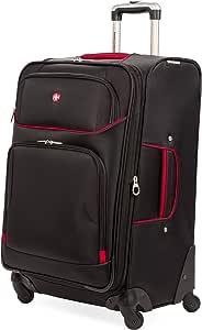 """SwissGear Tannen 24"""", Black/Red, One Size"""