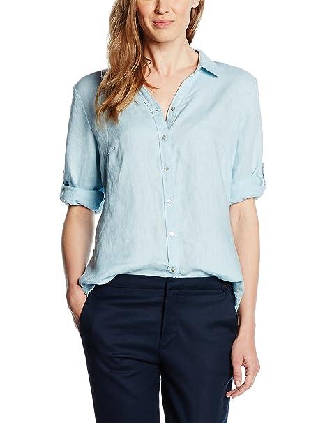 Bonita 1205251, Blusa para Mujer, Azul (Stratosphere Blue), 46
