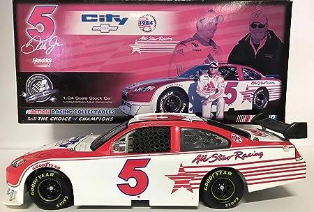 DALE EARNHARDT JR RETRO ALL-STAR RACING// CITY CHEVROLET 1//24 ACTION TEST CAR