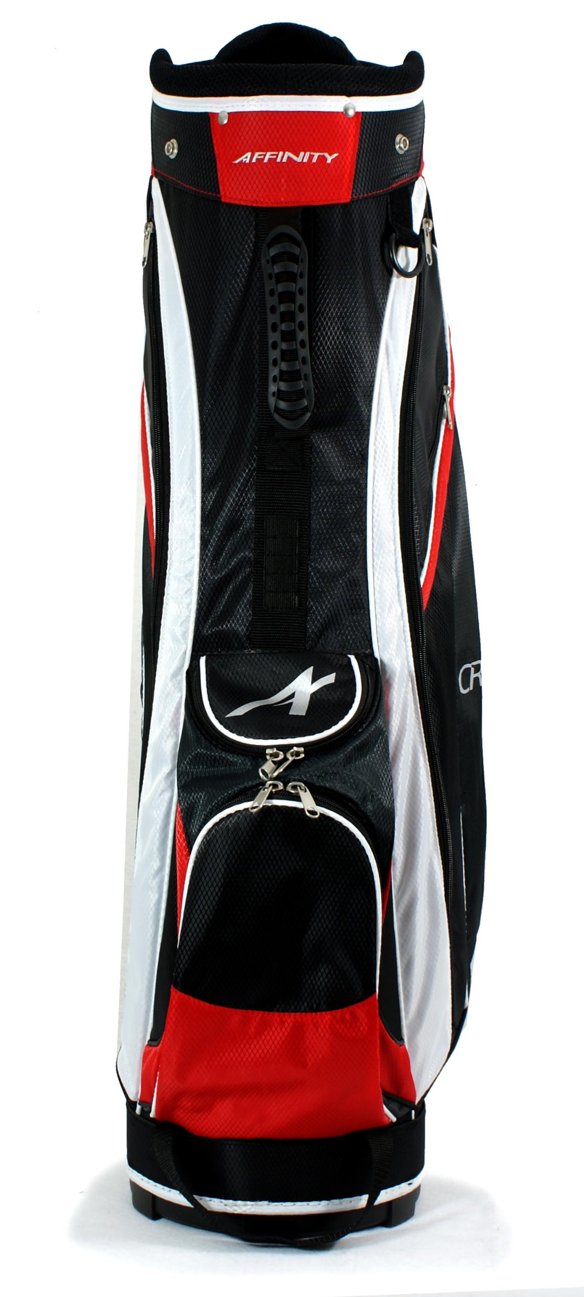 AFFINITY CRZ 9.5 Golf Cart Bag, Black/Red/White by Affinity (Image #4)