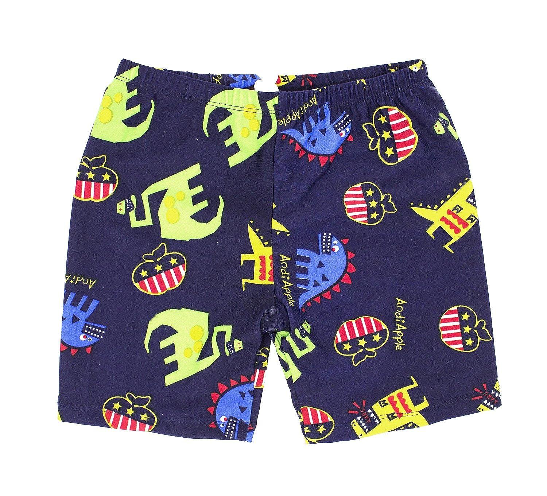 5b86cbd58d Amazon.com: stylesilove Kids Boy Cartoon Dinosaur Shark Rashguard Top & Swim  Shorts with Hat 3 pcs Set: Clothing