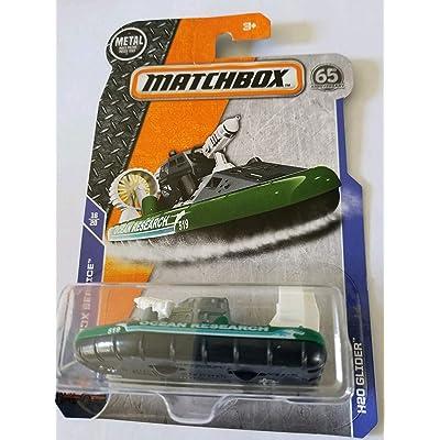 Matchbox Basic Vehicle MBX Service 16/20 - H2O Glider (Green): Toys & Games