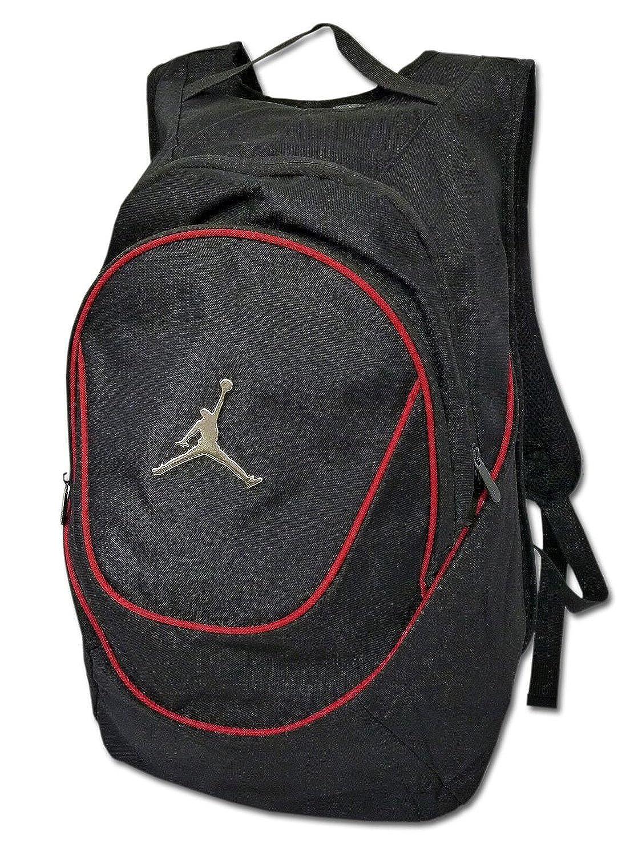 (ジョーダン)Jordan バッグ リュックサック (並行輸入品) B00O1NK8RC  黒赤銀