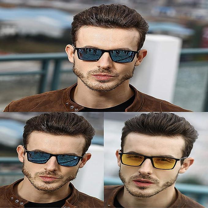 Blisfille Gafas de Sol Deporte Viaje Polarizadas Lente HD con Estilo de Conducir Unisex, Adulto,polarizadas de los Hombres,Gafas de Sol Hombre Polarizadas ...