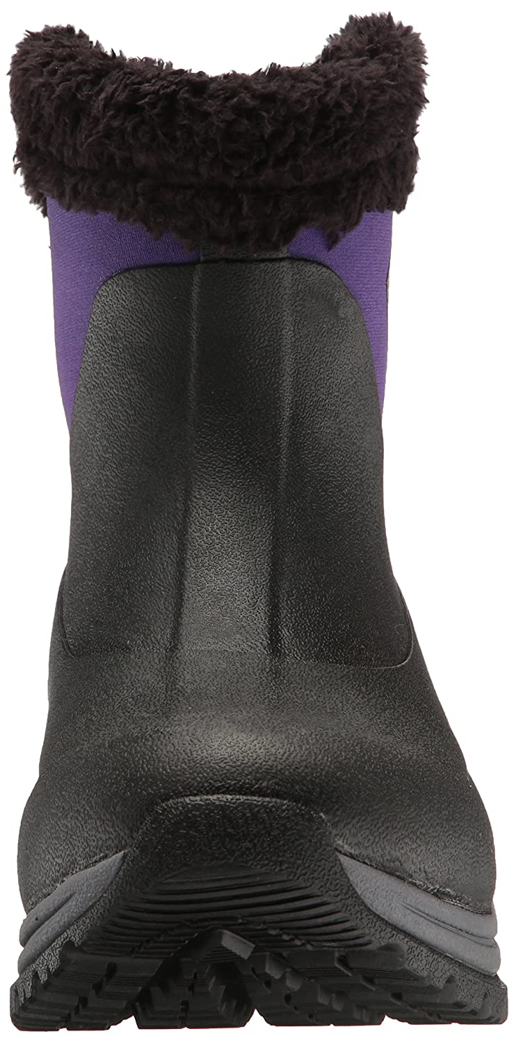 Muck Slip-On Arctic Après Mid-Height Casual Slip-On Muck Rubber Women's Winter Boots B01GK93K0G 5 B(M) US|Black/Parachute Purple fa3465