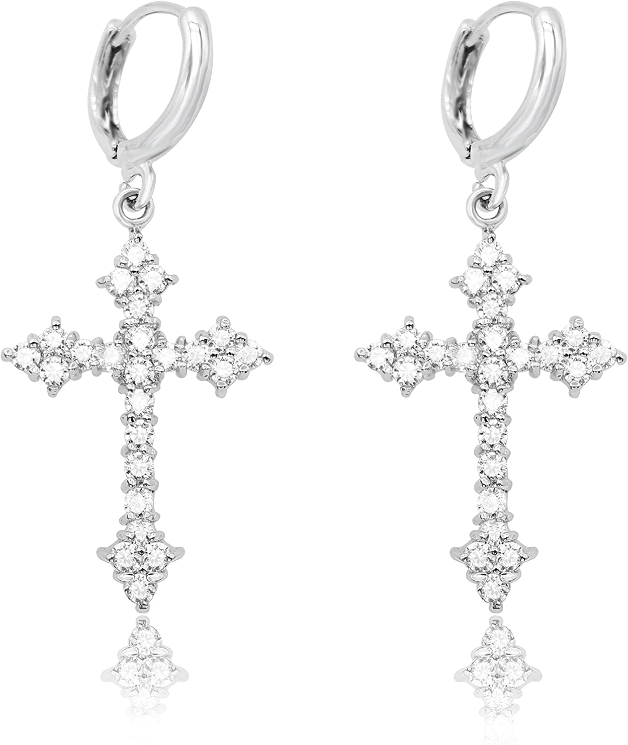 Women Lovely Silver Plated Earring Sliver Plated Long Drop Earrings Fashion CG