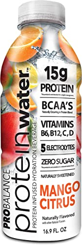 ProBalance The Original Protein Water, Mango Citrus, 16Count