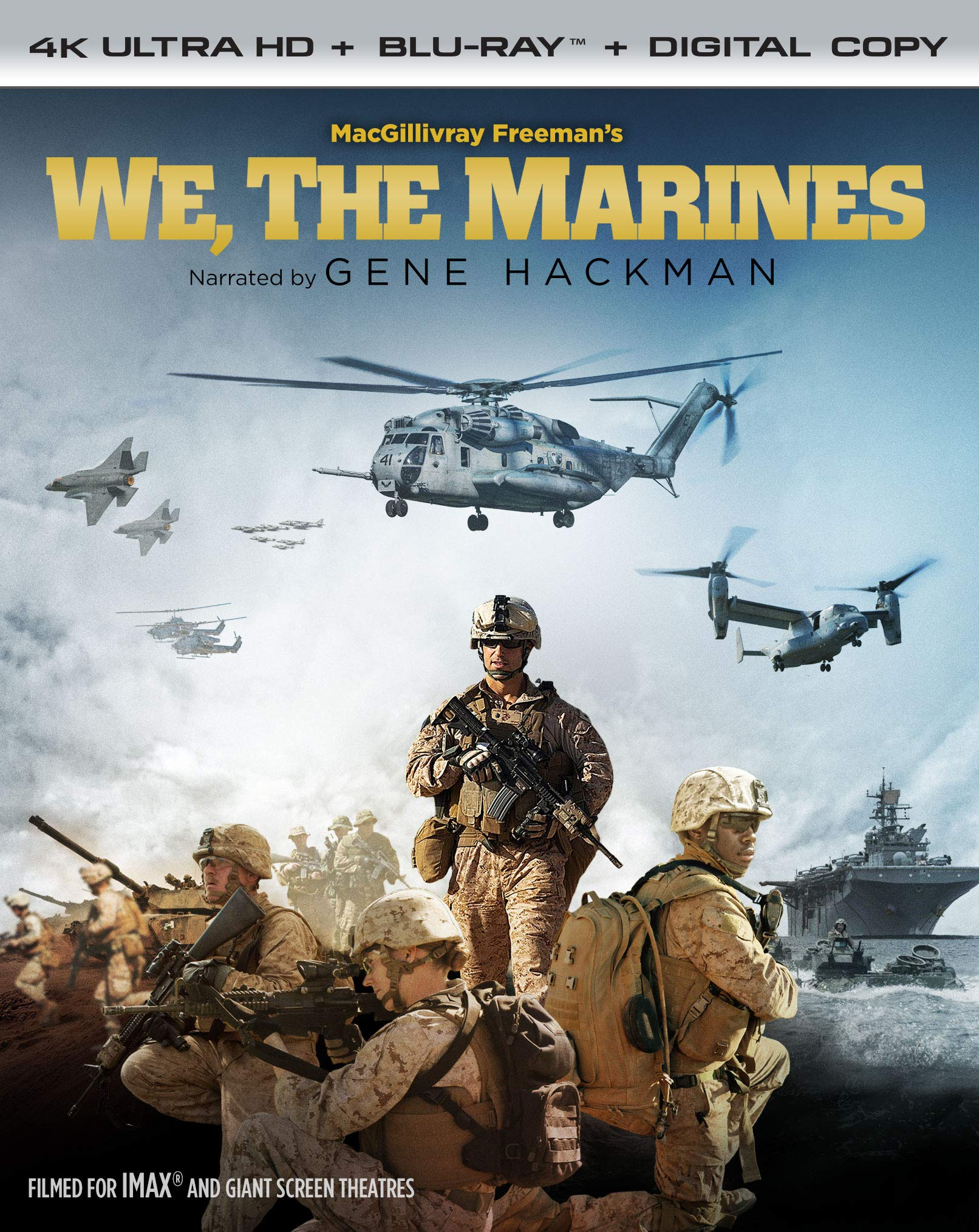 4K Blu-ray : We, The Marines (With Blu-ray, 4K Mastering, Widescreen, 2 Pack)