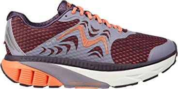 MBT Shoes Womens GT 18 Running Shoe Leather/mesh lace-up
