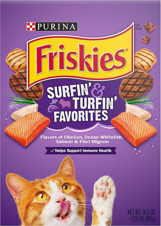 Friskies Feline Favorities Formula for Cats (16.2-oz box)