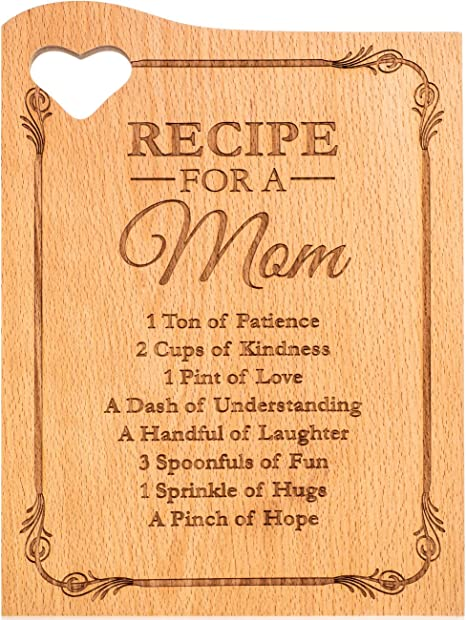 From Daughter State Shaped Cutting Board Uniqe Gift Home is Where Mom Is Totally Bamboo Cutting Board Kitchen Decor Mother/'s Day