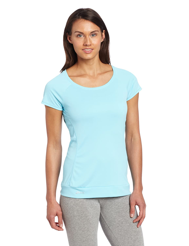 ASICS Favorite Damen-T-Shirt mit kurzen Ärmeln