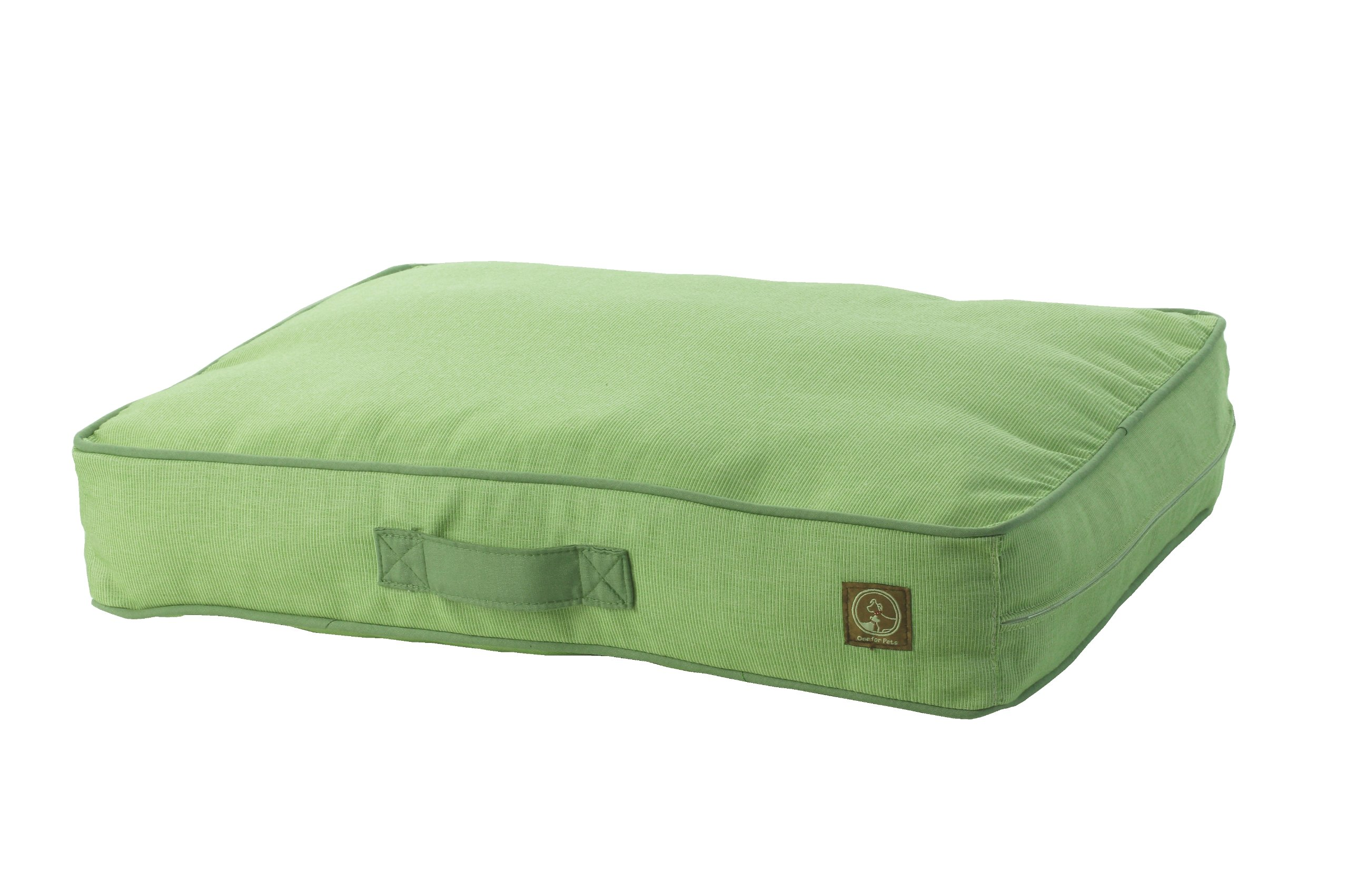 One for Pets Siesta Indoor/Outdoor Pet Bed Dog Bed Duvet Cover, Large, Green by One for Pets