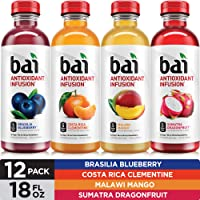 Deals on 12-Pack Bai Rainforest Variety Pack Antioxidant 18Oz