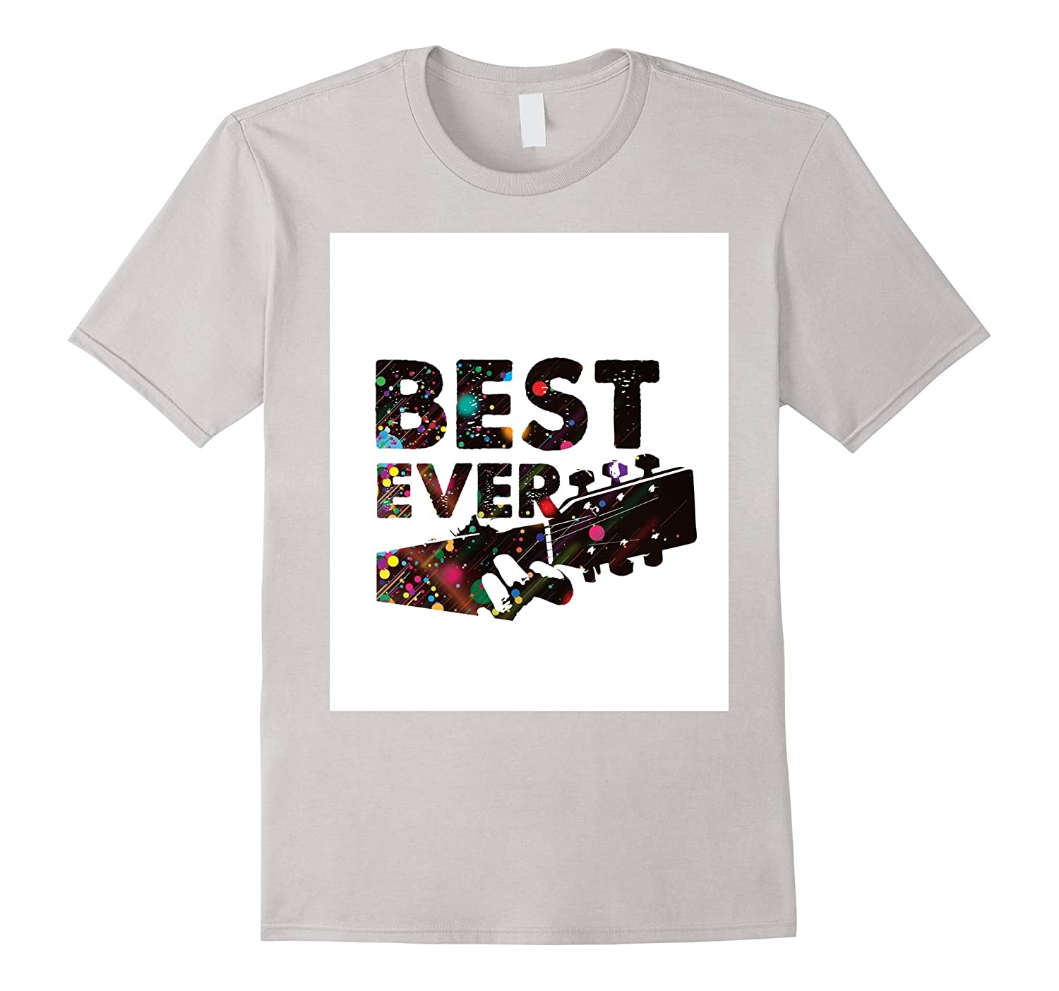 Mens Best Dad Ever Guitar Chords for Musician Father T-Shirt