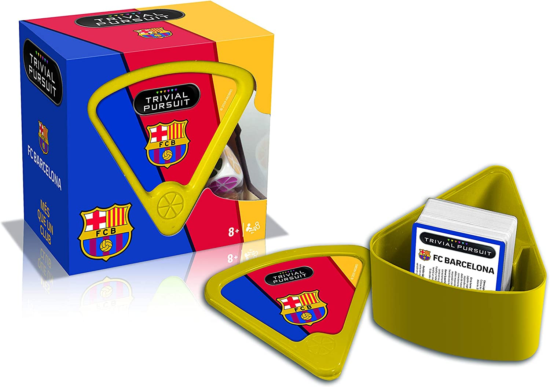 Winning Moves Trivial Pursuit FC Barcelona Edición Viaje Juego de ...