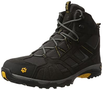 4558bdefe81 Jack Wolfskin Men's Vojo Mid Texapore Hiking Boot, Burly Yellow, Medium /  10 F