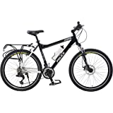 Force Permiter Police Bicycle, 26 inch wheels, four frame sizes available in black or