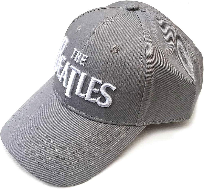 The Beatles Baseball Cap Classic Drop T Band Logo Official Strapback