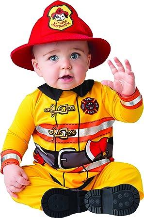 Little Baby Fearless Firefighter Fancy Dress Costume 6 12 Months