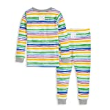 Burt's Bees Baby Baby Pajamas, Tee and Pant 2-Piece