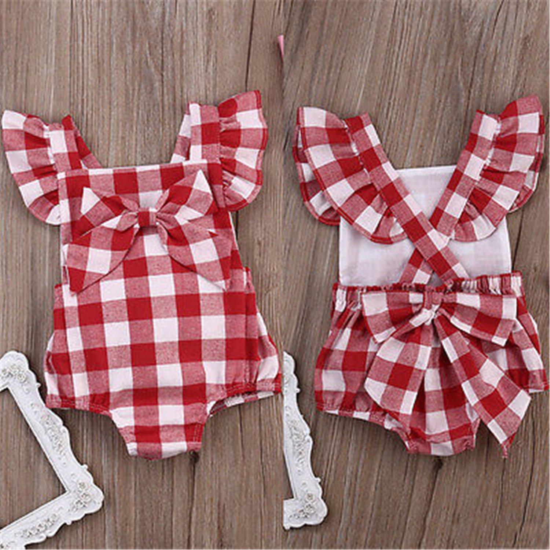 Susan1999 Infant Baby Kids Girl Clothes Romper Jumpsuit Playsuit Outfits