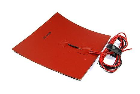 12 V 150 W Flexible calefacción Mat 200 x 200 mm NTC 3950 3d Brew termistor