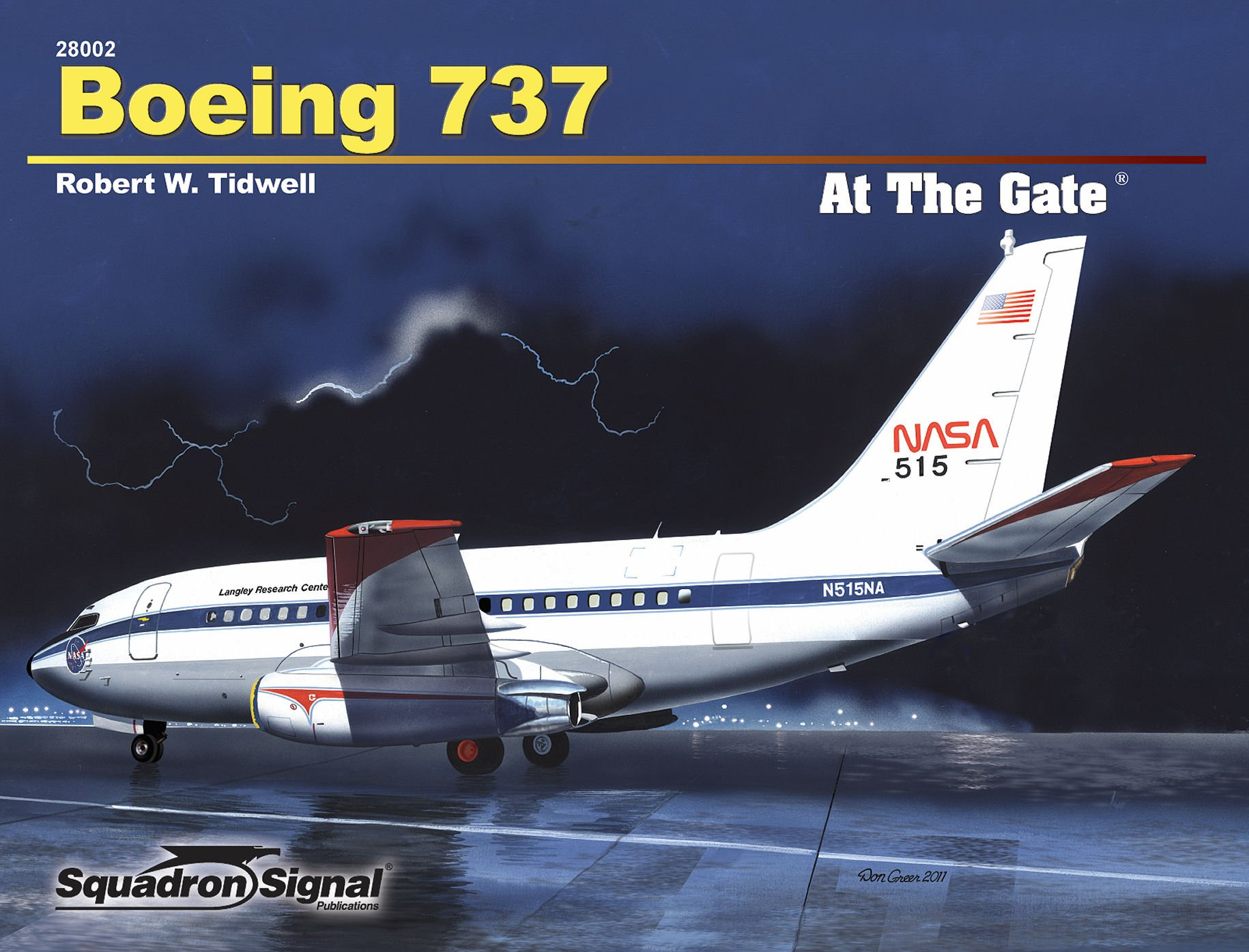 Boeing 737 (At The Gate No. 2)