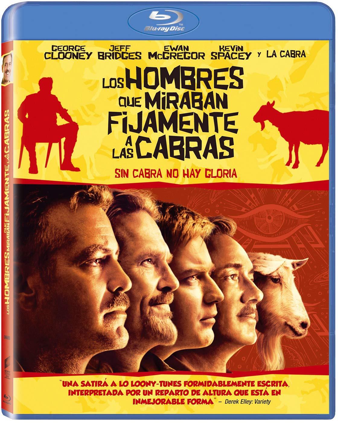 Los Hombres Que Miraban Fijamente A Las Cabras - Bd [Blu-ray]