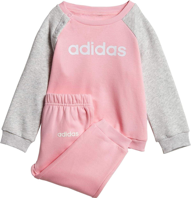 adidas Baby-Jungen I Lin Jogg FL Trainingsanzug