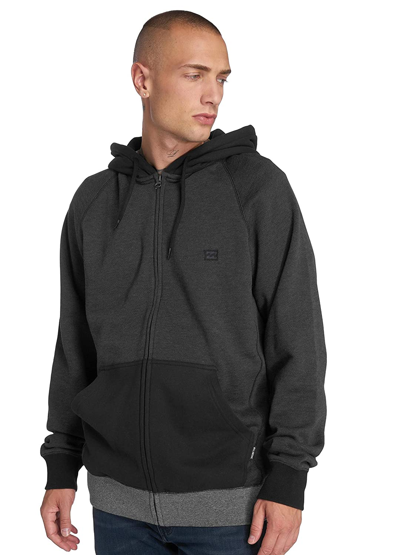 TALLA Medium (Tamaño del fabricante:M). BILLABONG Balance Zip Jersey, Hombre