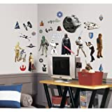 Amazon Price History for:Roommates Rmk1586Scs Star Wars Classic Peel And Stick Wall Decals