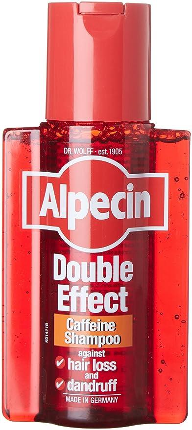 Alpecin - Champú de doble efecto contra la caspa y la caída de cabello, 200