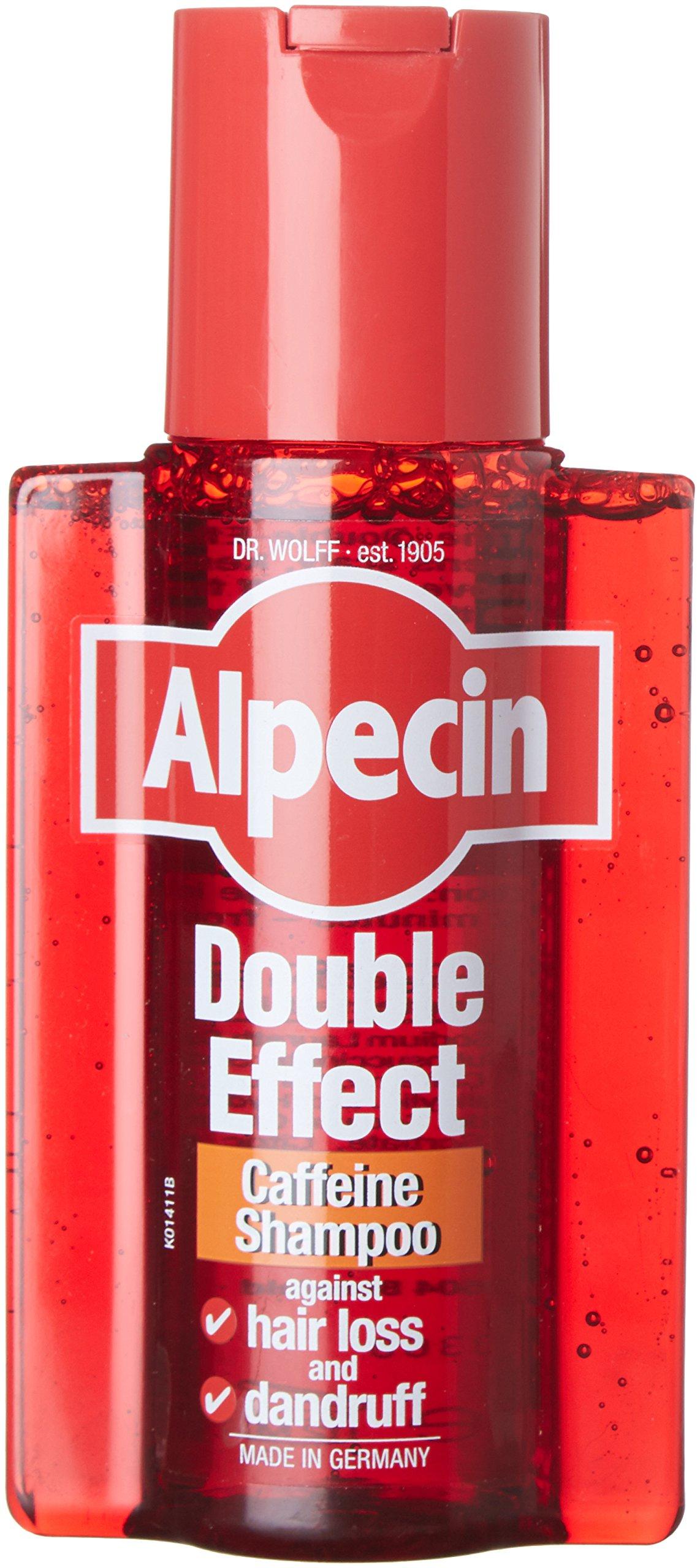 Alpecin Double Effect Dandruff and Hair Loss Shampoo 200 ml